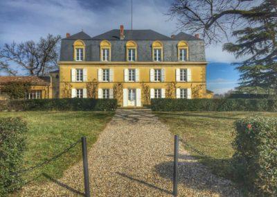 Le château Guiraud, grand cru classé Sauternes