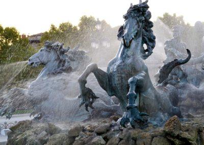 Chevaux, Fontaines Monument aux Girondins, Bordeaux