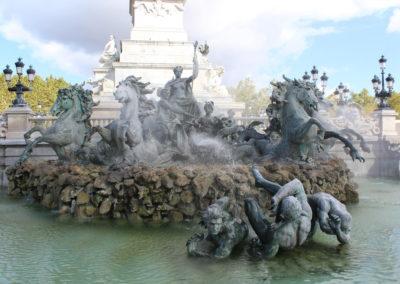 Fontaine Monuments aux Girondins, Bordeaux