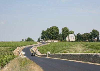 La route des vins du Médoc, Bordeaux