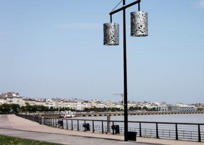 Promenade sur les quais de Bordeaux